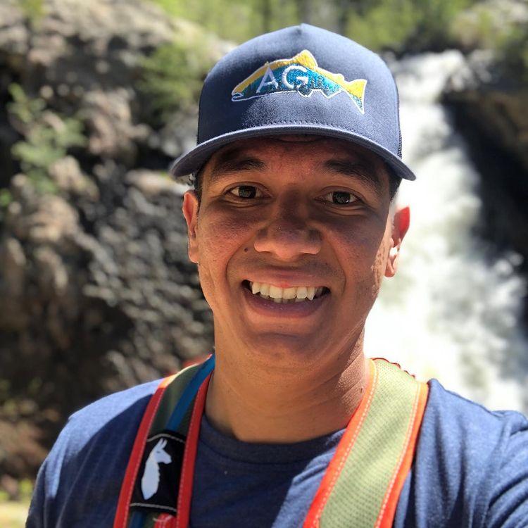 Michael Langell Hiking in Steam Boat Springs, CO