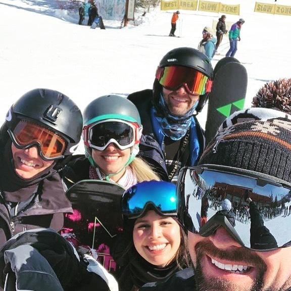 Michael Langell goes skiing in Park CIty, Utah.