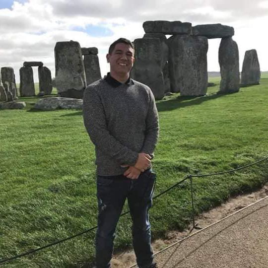 Michael Langell Goes to Stone Henge